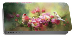 House Finch Valentine Portable Battery Charger