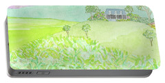 House On A Hill Portable Battery Charger