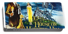 House On Haunted Hill Poster Classic Horror Movie  Portable Battery Charger