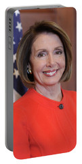 House Speaker Nancy Pelosi Of California  Portable Battery Charger