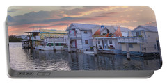 Houseboat Row - Key West Portable Battery Charger