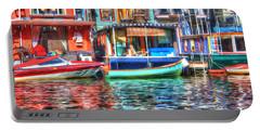 Houseboats - Lake Union - Seattle Portable Battery Charger