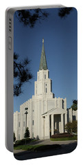 Houston Lds Temple Portable Battery Charger