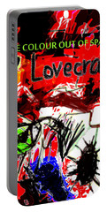 Hp Lovecraft Poster  Portable Battery Charger