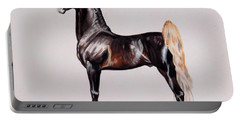 Hs Daydream's Premier Night - Saddlebred Stallion Portable Battery Charger by Cheryl Poland