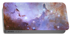 Portable Battery Charger featuring the photograph Hubble Space Telescope Celebrates 25 Years Of Unveiling The Universe by Nasa