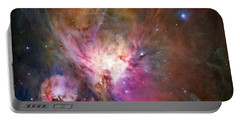 Hubble's Sharpest View Of The Orion Nebula Portable Battery Charger by Adam Romanowicz