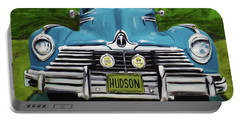 Hudson Blue Portable Battery Charger