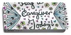 Hug A Caregiver Portable Battery Charger