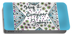 Hug A Caregiver Portable Battery Charger