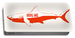 Hug Me Shark Portable Battery Charger by Pixel Chimp