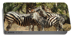 Portable Battery Charger featuring the photograph Hug Time by Betty-Anne McDonald