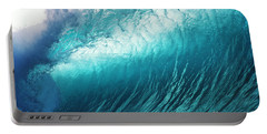 Huge Glassy Wave Portable Battery Charger