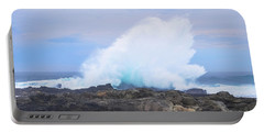 Huge Storms River Splash Portable Battery Charger by Jeff at JSJ Photography
