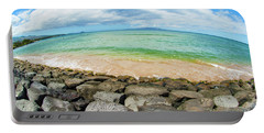 Portable Battery Charger featuring the photograph Huge Wikiki Beach by Micah May
