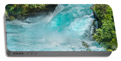 Huka Falls Portable Battery Charger by Racheal Christian