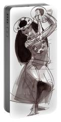 Hula Dancer Alika Portable Battery Charger