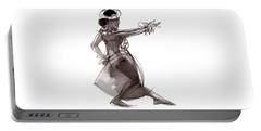 Hula Dancer Keala Portable Battery Charger
