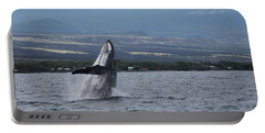 Portable Battery Charger featuring the photograph Humback Whale by Pamela Walton