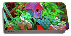 Humming Bird House Portable Battery Charger