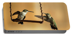 Humming Birds Portable Battery Charger