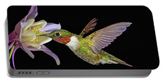 Hummingbird Art Portable Battery Charger