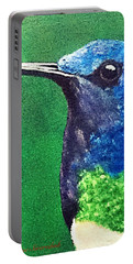 Hummingbird Portable Battery Charger by Catherine Swerediuk