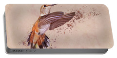 Hummingbird Color Splash I Portable Battery Charger