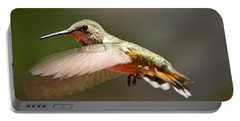 Hummingbird Facing Left Portable Battery Charger