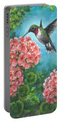 Hummingbird Heaven Portable Battery Charger