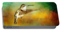 Hummingbird Hover Portable Battery Charger