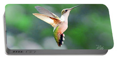 Hummingbird Hovering Portable Battery Charger by Meta Gatschenberger