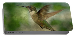 Hummingbird In Flight II Portable Battery Charger