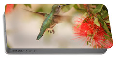 Hummingbird In Paradise Portable Battery Charger