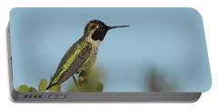 Hummingbird On Watch Portable Battery Charger