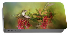 Hummingbird Paradise Portable Battery Charger