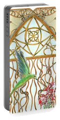 Hummingbird Sanctuary Portable Battery Charger