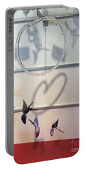Hummingbird Shadows Portable Battery Charger