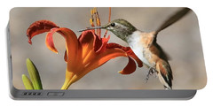 Hummingbird Whisper  Portable Battery Charger