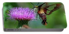 Hummingbirdbird Moth Dining Portable Battery Charger