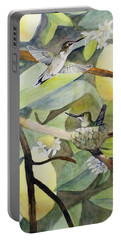 Hummingbirds And Lemons Portable Battery Charger