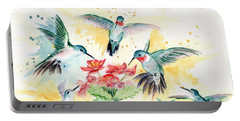 Hummingbirds Party Portable Battery Charger