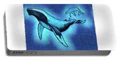 Humpback And Calf Portable Battery Charger
