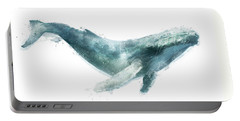 Humpback Whale From Whales Chart Portable Battery Charger