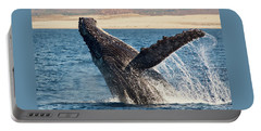 Humpback Whale Breaching Portable Battery Charger