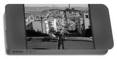 Humphrey Bogart Film Noir Dark Passage Telegraph Hill And Coit Tower San Francisco 1947 Portable Battery Charger