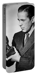 Humphrey Bogart Holding Falcon The Maltese Falcon 1941  Portable Battery Charger