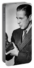 Humphrey Bogart Holding Falcon The Maltese Falcon 1941  Portable Battery Charger