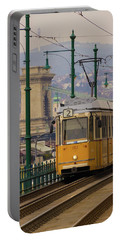 Hungarian Tram Portable Battery Charger by David Warrington