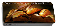 Hunger For Word Of God Portable Battery Charger
